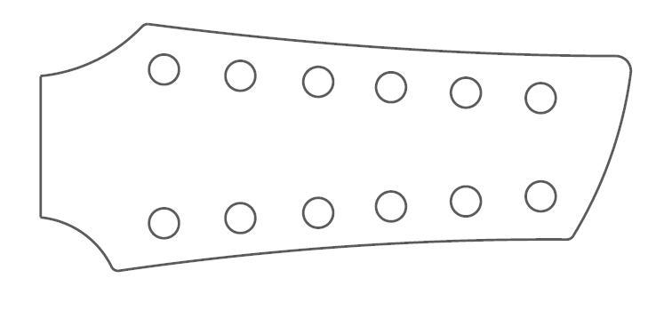 Headstock Design Franco