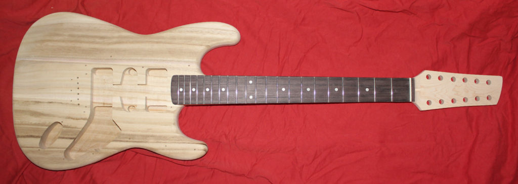 Total with sculpted headstock