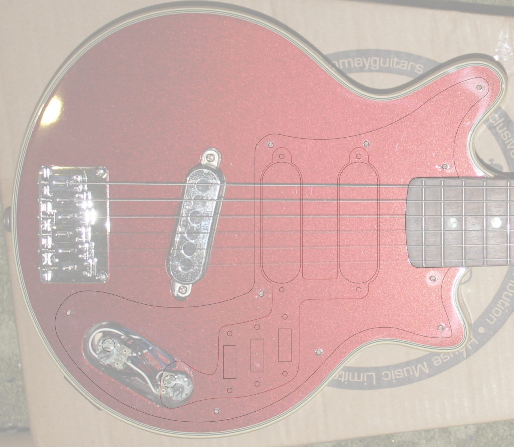 Body with new pickguard